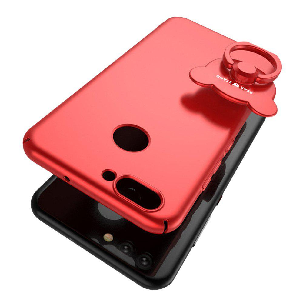 Full-body Protective The Outer Ring Cell Phone Holder Case for HUAWEI Nova2 - RED