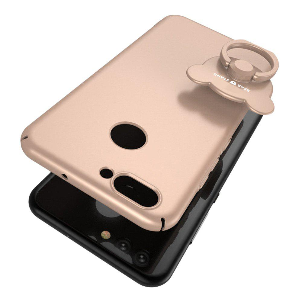 Full-body Protective The Outer Ring Cell Phone Holder Case for HUAWEI Nova2 - GOLDEN