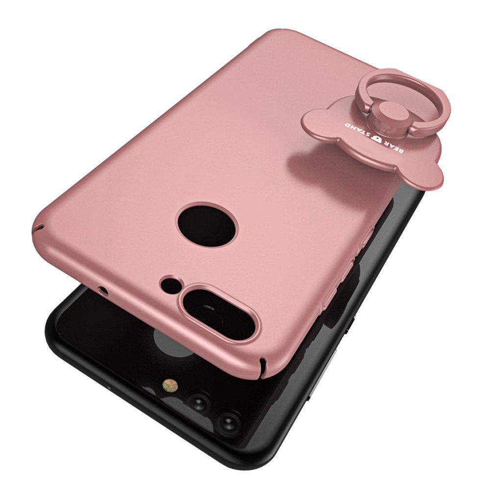 Full-body Protective The Outer Ring Cell Phone Holder Case for HUAWEI Nova2 - ROSE GOLD