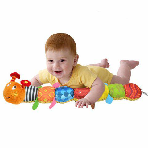 Multifunctional Puzzle Toy Music Worm for Baby - COLORMIX