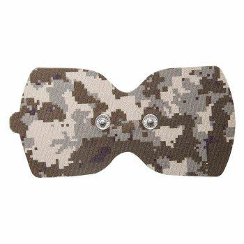 LERAVAN Mi Home Snap-on Electrode Pads 2pcs for Digital Acupuncture Therapy Massage Machine - DESERT CAMOUFLAGE DESERT CAMOUFLAGE
