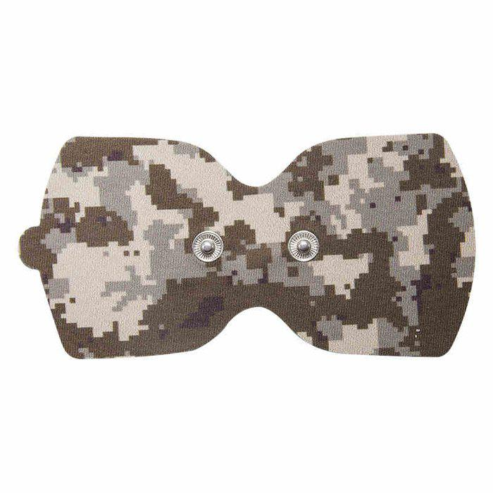 LERAVAN Mi Home Snap-on Electrode Pads 2pcs for Digital Acupuncture Therapy Massage Machine - DESERT CAMOUFLAGE