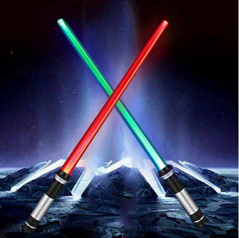 YWXLight Double Sided RGB LED Light Sword - SILVER