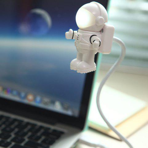 Creative Robot Modeling USB Night Light - WHITE