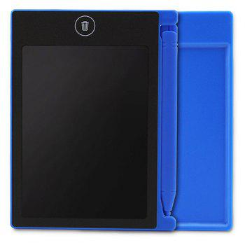 4.4 inch Digital LCD Writing Tablet High-definition Brushes Handwriting Board Portable No Radiation - BLUE