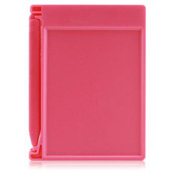 4.4 inch Digital LCD Writing Tablet High-definition Brushes Handwriting Board Portable No Radiation - PINK