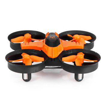 F36 Mini 2.4GHz 4CH 6 Axis Gyro RC Quadcopter with Headless Mode Speed Switch - ORANGE STANDARD VERSION