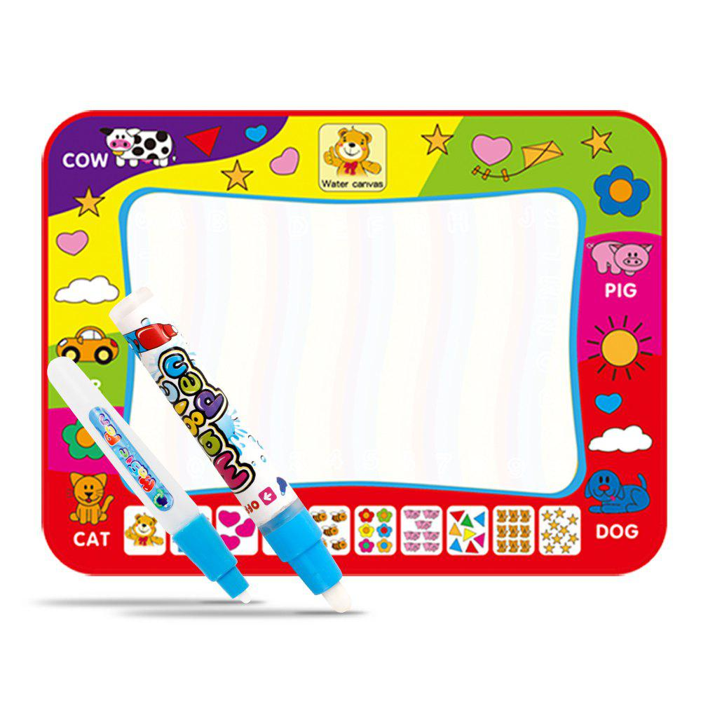 80 x 60cm Water Drawing Mat Board Painting Writing Doodle with Magic Pen