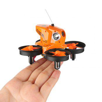 H801 720P 2.4GHz 4CH 6 Axis Gyro WiFi FPV Remote Control Quadcopter WiFi FPV - ORANGE WITH 2 BATTERIES
