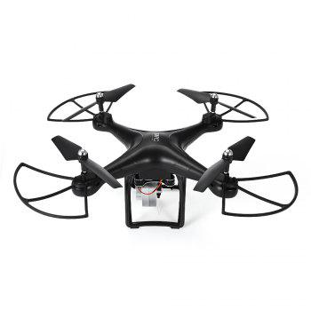 S10 WiFi FPV Remote Control RC Drone RTF 480P Camera / Headless Mode / One Key Return - BLACK
