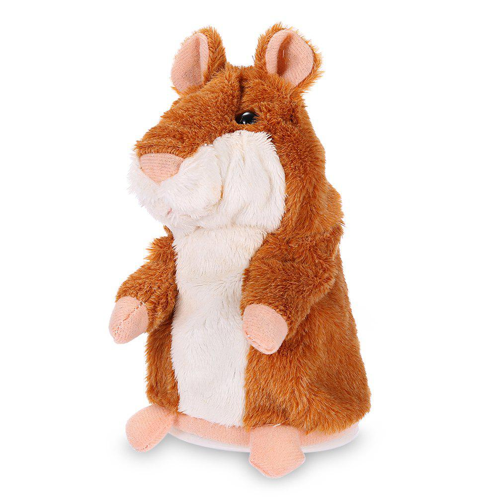 Talking Recording Hamster Educational Plush Toy ysdx 902 christmas plush hamster talking