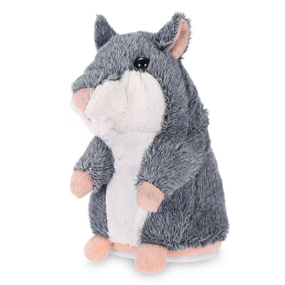 Talking Recording Hamster Educational Plush Toy hamster princess ratpunzel