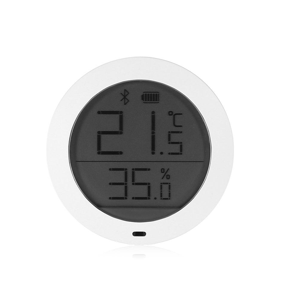 Xiaomi Smart Thermostat Accuracy Indoor Temperature and Humidity Monitor - WHITE