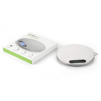 zanmini Digital Kitchen Scale - STAINLESS STEEL