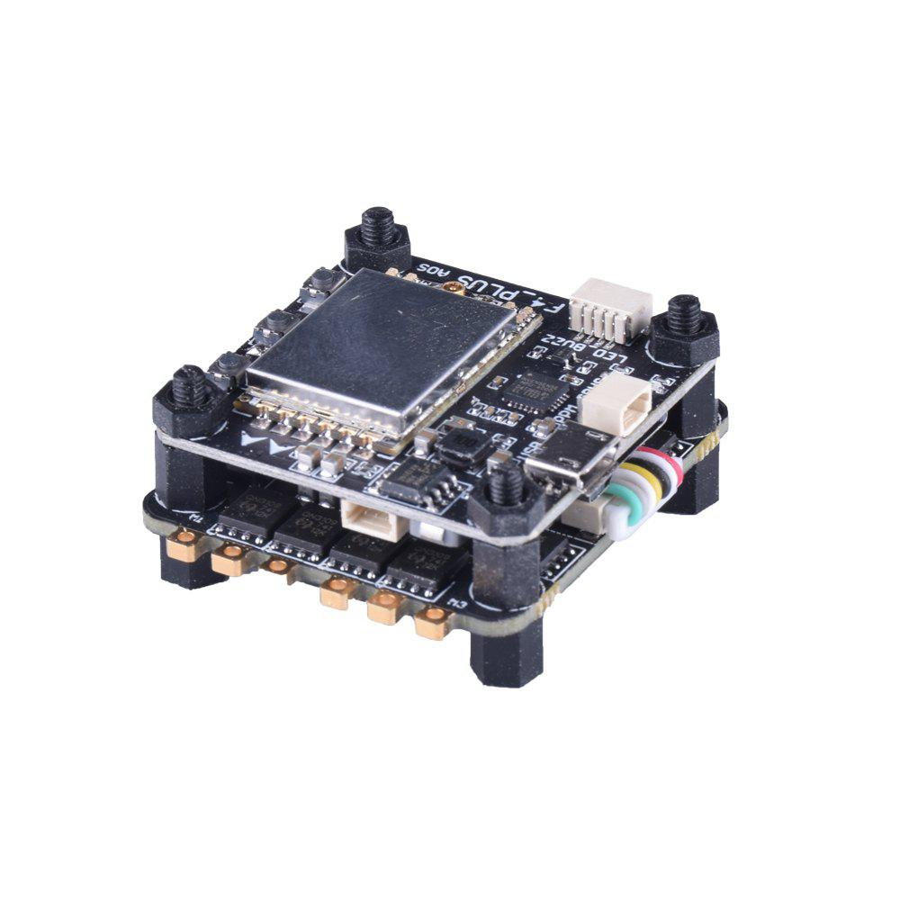 FuriBee F4 PLUS Flytower with F4 Flight Control 4-in-1 BLHeli - S 35A ESC 5.8G 48CH 25MW / 100MW / 200MW Video Transmitter - BLACK