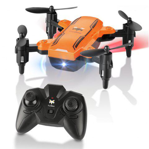 H815 2.4GHz 4CH 6 Axis Gyro Remote Control Mini Quadcopter - ORANGE