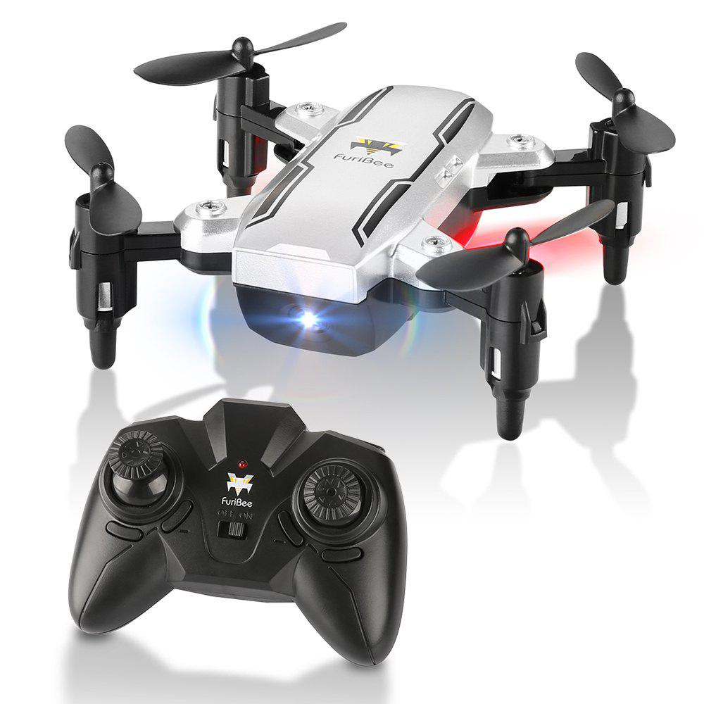 H815 2.4GHz 4CH 6 Axis Gyro Remote Control Mini Quadcopter - SILVER