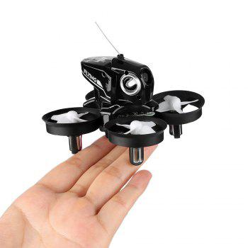 FuriBee H801 2.4GHz 4CH 6 Axis Gyro WiFi FPV Remote Control Quadcopter WiFi FPV 2 Batteries - BLACK WITH 2 BATTERIES