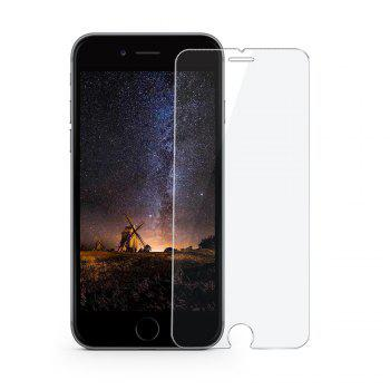 Siroflo 3D Curved Tempered Glass Screen Protector Film for iPhone 8 / 7 / 6 2PCS - TRANSPARENT