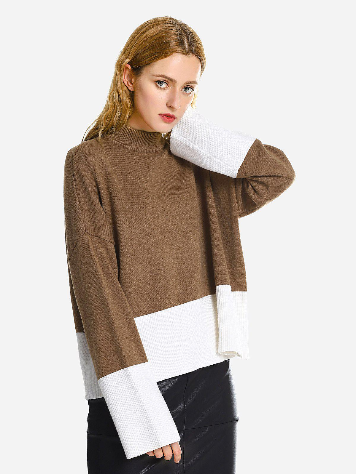 Pullover Ample - Caramel ONE SIZE
