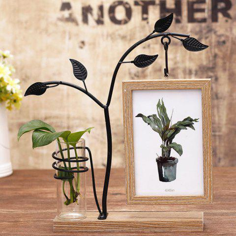 Creative Personality Decorative Ornaments Hanging Double-sided Photo Frame - WOOD