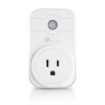 Houzetek SWA1 WiFi Smart Plug - WHITE US PLUG (3-PIN)