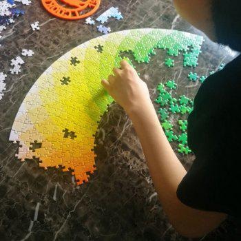 Rainbow Palette Intellectual Puzzle Toy for Adults and Kids 1000PCS - COLOUR