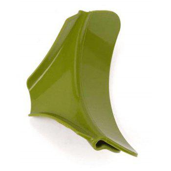 Silicone anti-leakage deflector Funnel Diversion Mouth - GREEN