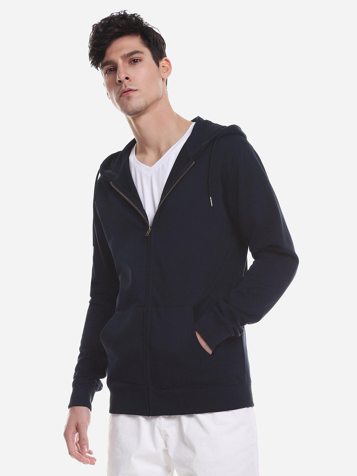 ZAN.STYLE Pocket Hooded Sweatshirt