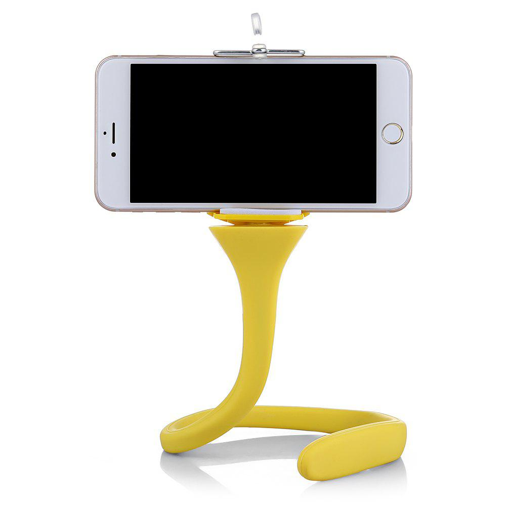 Phone Holder Selfie for iPhone 7 8 X Samsung S8 Huawei Redmi Xiaomi Smart Phone - YELLOW