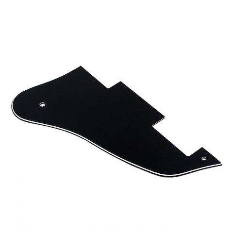 Three Layers PVC Pickguard Suitable for Gibson ES335 Guitar - BLACK