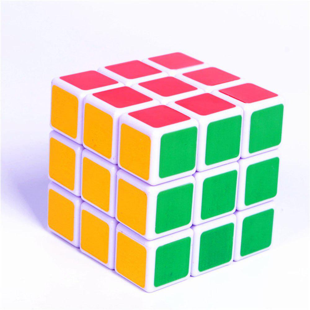ABS Ultra-Smooth Professional Speed Magic Cube Puzzle Twist Toy Rubik - COLOUR