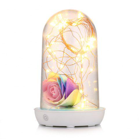 Creative LED Starry String Table Light Bedside Lamp - COLORMIX