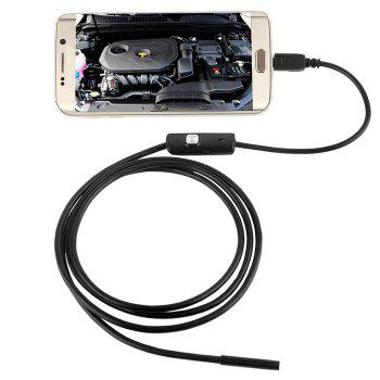 3.5m Mini Android Endoscope with Waterproof IP67 and Inspection Snake Tube Camera - BLACK