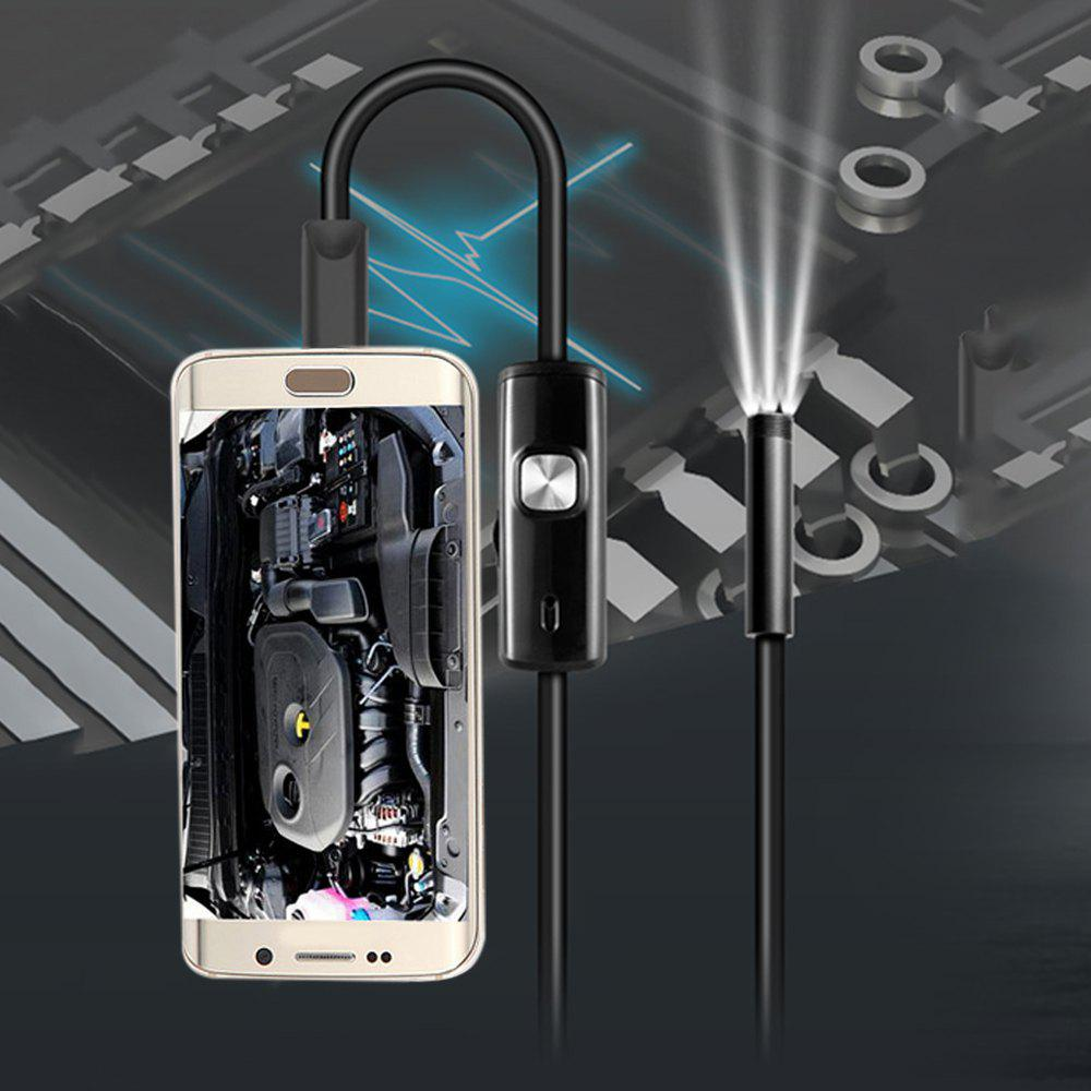3.5m Mini Android Endoscope with Waterproof IP67 and Inspection Snake Tube Camera trinidad wolf 8mm endoscope inspection camera 1200p semi rigid hard tube endoscope wifi borescope snake video camera for iphone