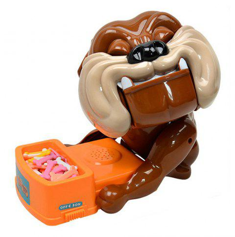 Large Careful Bulldog Board Game Parent-child Creative Funny Trick - BROWN