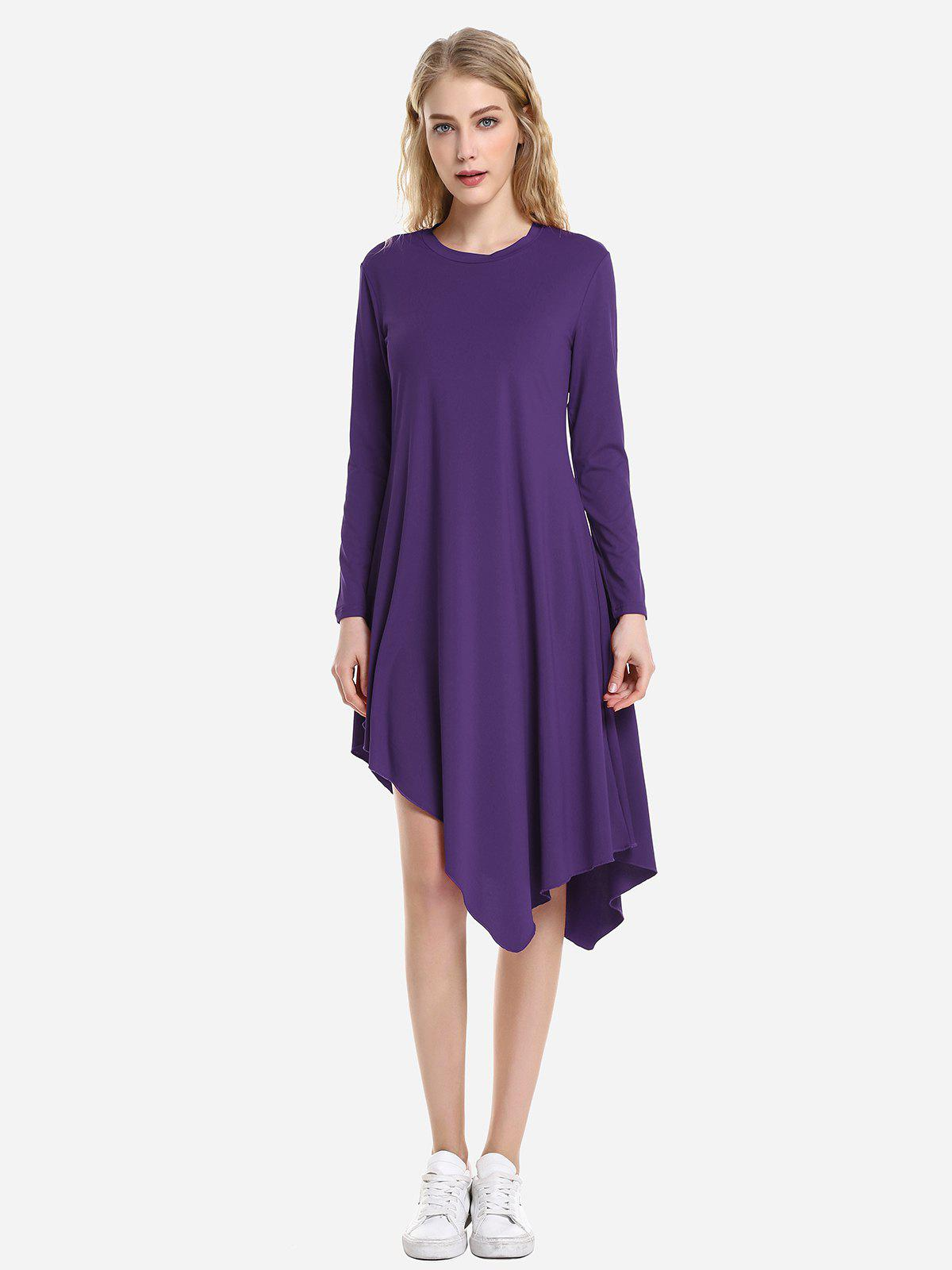 ZAN.STYLE Long Sleeve Dress