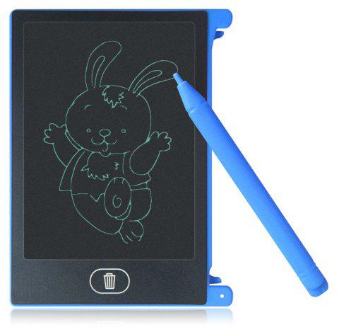 4.4 inch LCD Writing Tablet Kid Drawing Board Home Office Business Notepad - BLUE