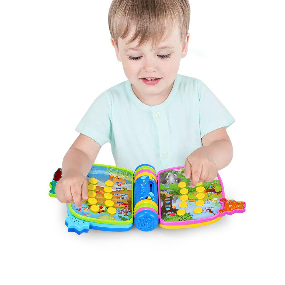 Musical Book Flip Learning Toy - COLORFUL