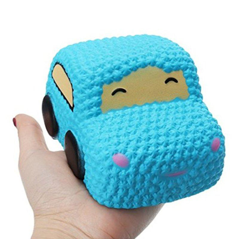 Car Cake Jumbo Squishy Slow Rising Cartoon Doll Squeeze Toy Collectibles