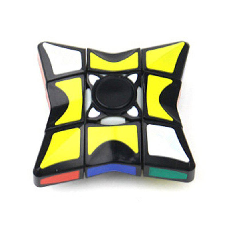 Magic Cube Hand Spinner Magnetic Rotating Decompression Fingertip Gyro free shipping 699 fingertip gyro finger spiral hybrid ceramic bearings for hand spinner 9x20x6mm 699 hybrid ceramic 9 20 6 mm