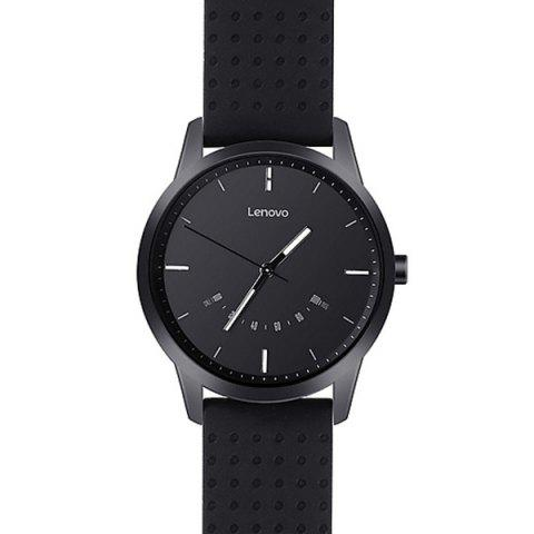 Lenovo Watch 9 Montre Connectée Bluetooth Traqueur de Fitness Prise en Charge iOS et Android - Noir