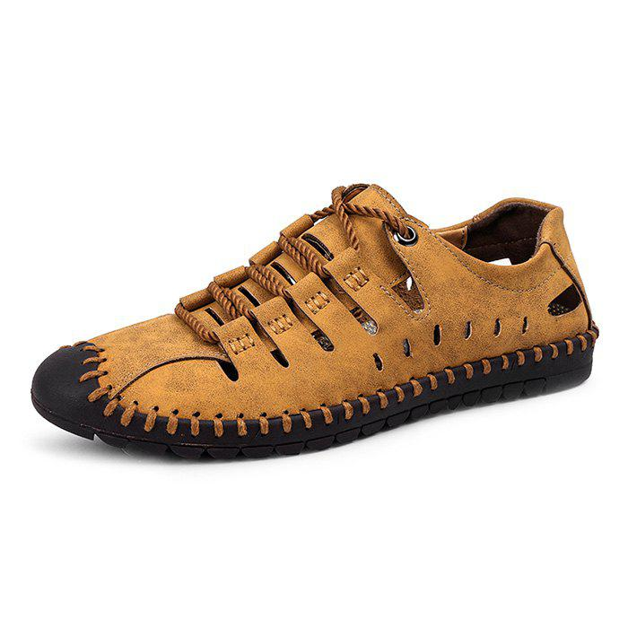 Trendy Outdoor Breathable Anti-slip Casual Sandal Shoes for Men - BROWN EU 44