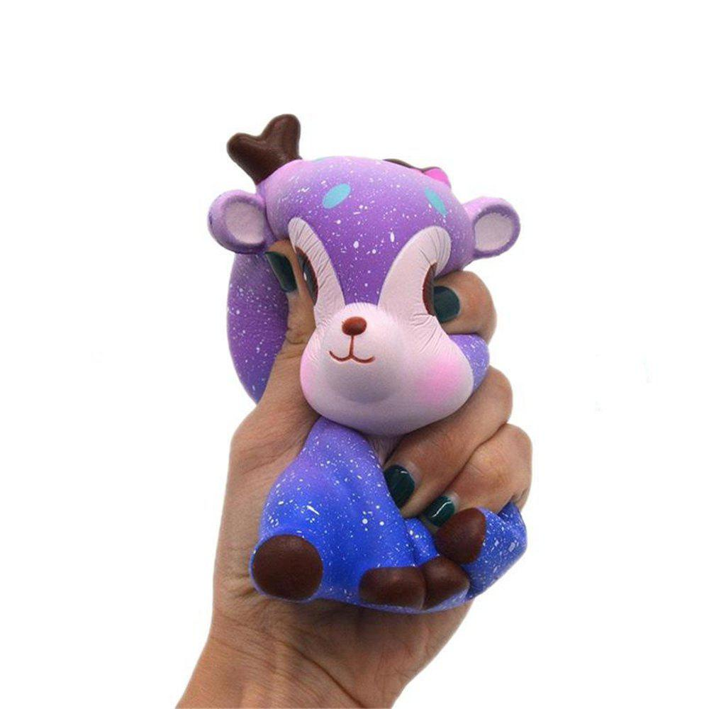 Soft Slow Springback Simulation Toy Deer Sky Jumbo Squishy creative simulation plush soft fox naruto toy polyethylene