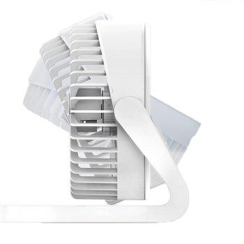 ORICO FT1 - 2 Desktop Adjustable Low Noise USB Mini Fan - WHITE