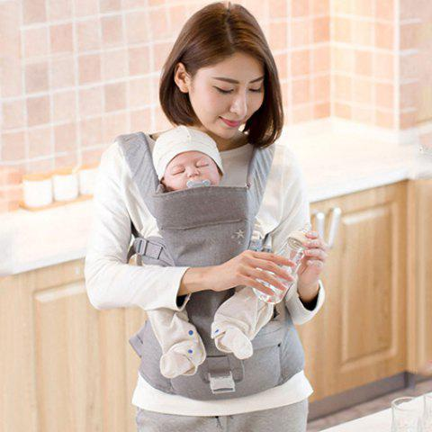Multifunctional Baby Carrier Waist Stool - GRAY