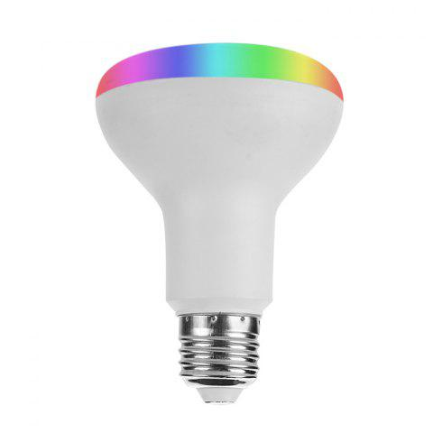 Ampoule LED Intelligente Télécommande WiFi 7 Couleurs Prend en Charge Google Home / Amazon Echo - Blanc