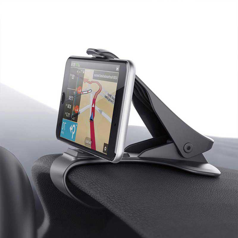 gocomma Mobile Phone Stand Cradle Dashboard Car Holder Support GPS - BLACK