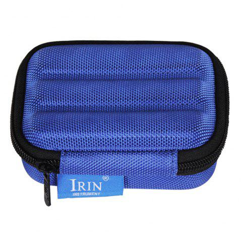 IRIN High-grade Lightweight Shockproof Box for Harmonica - BLUE ORCHID