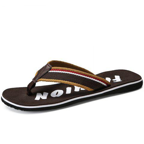 Casual Outdoor Beach Breathable Slippers - LIGHT BROWN 43